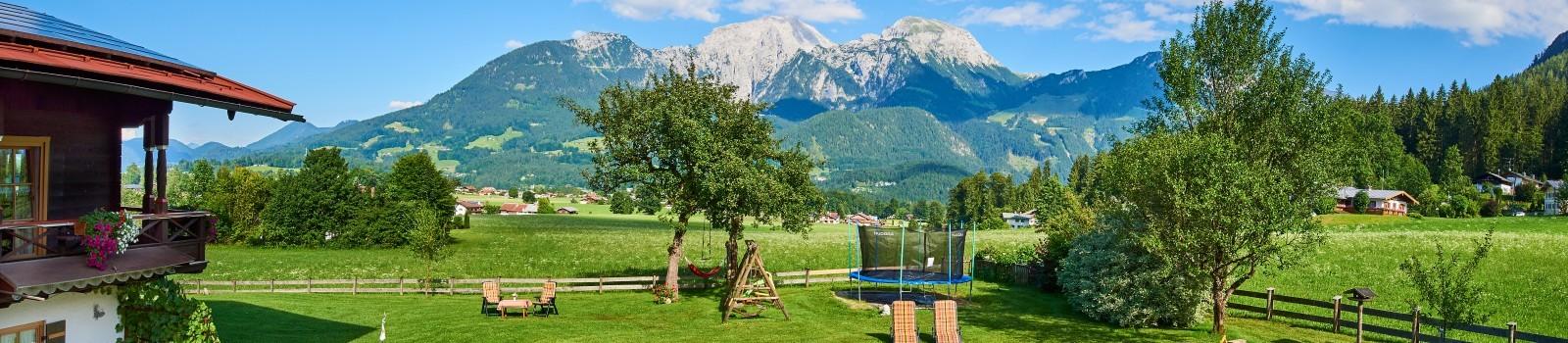 Aussicht Ferienwohnungen Grünsteineck