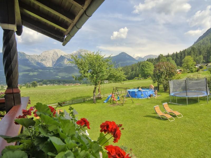 Ausicht Ferienwohnungen Grünsteineck