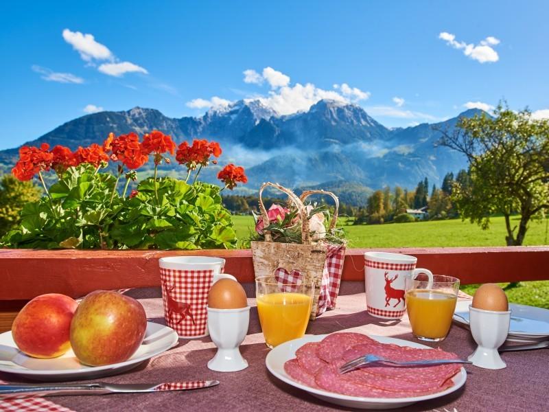 Frühstück in der Ferienwohnung