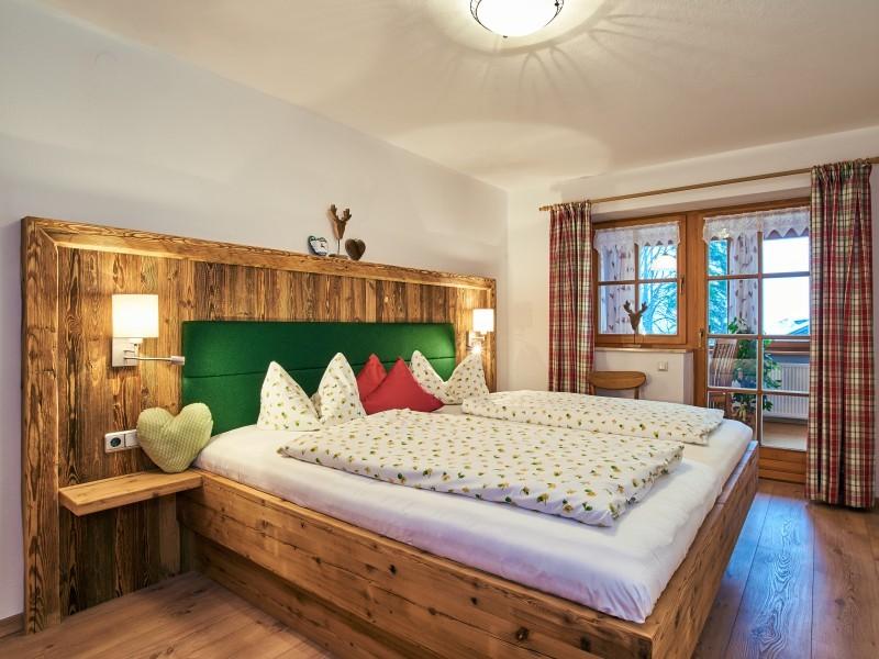 Schlafzimmer Ferienwohnung Untersberg