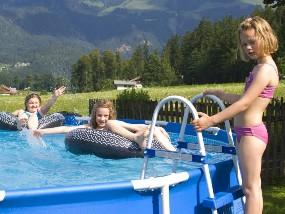 unser kleiner Swimmingpool